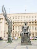 The Monument, statue of Iuliu Maniu by Mircea Corneliu Spataru Stock Image