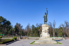 Monument statue of stefan cel mare si sfant Royalty Free Stock Images