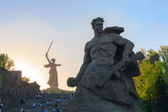 Monument Stay to Death on Mamaev Kurgan Royalty Free Stock Images