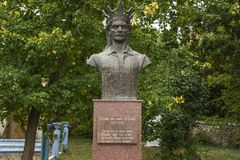 Monument of Stefan cel Mare Royalty Free Stock Images