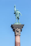Monument Stockholm Sweden Royalty Free Stock Photography