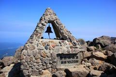 Monument sur le sommet Photo libre de droits
