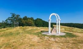 Monument sur le totoha de montagne Images libres de droits