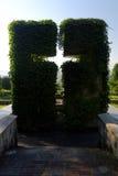 Monument sur un cimetière Image stock