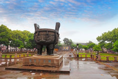 Monument in Suzhou Royalty Free Stock Photo
