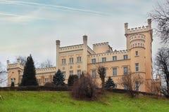 Monument in Swiebodzice Stockfotografie