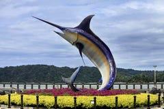Monument swordfish Royalty Free Stock Photos