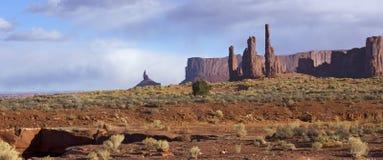 Monument-Tal in Arizona Lizenzfreie Stockfotos