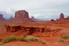 Monument-Tal, Arizona und Utah, USA Lizenzfreie Stockfotografie