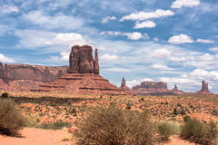 Monument-Tal, Arizona, Utah Stockfotografie