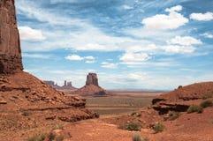 Monument-Tal, Arizona, Utah Stockfotos
