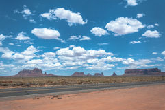 Monument-Tal, Arizona, Utah Lizenzfreies Stockfoto