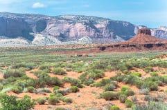 Monument-Tal, Arizona, Utah Lizenzfreie Stockfotos