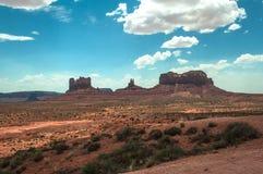 Monument-Tal, Arizona, Utah Stockbilder