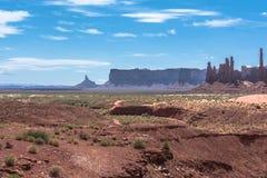 Monument-Tal, Arizona, Utah Stockbild