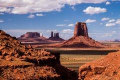 Monument-Tal-ikonenhafte Landschaft Lizenzfreies Stockfoto