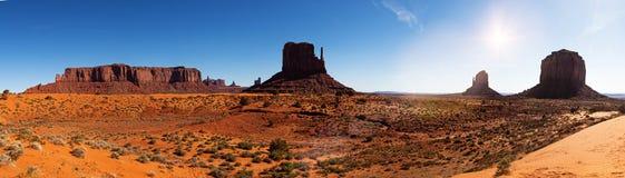 Monument-Tal-Nationalpark-Panorama Stockfotos