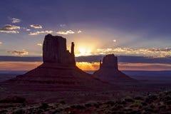 Monument-Tal-Navajo-Stammes- Park Lizenzfreies Stockfoto