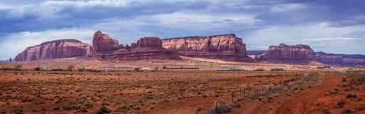 Monument-Tal-Navajo-Stammes- Park stockfotografie