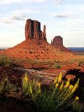 Monument-Tal-Sonnenuntergang - USA Amerika lizenzfreie stockbilder