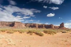 Monument-Tal in Utah, die Vereinigten Staaten von Amerika Lizenzfreie Stockbilder