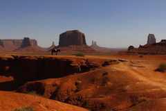 Monument-Tal, Utah, USA Stockfotos