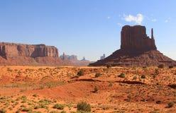 Monument-Tal, Utah, USA Stockbild