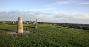 Monument on tara hill. Stock Photography