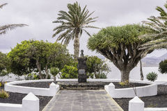 Monument in Teguise Royalty Free Stock Photos