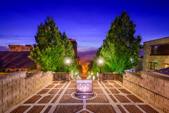 Monument-Terrasse in Lynchburg Stockfotografie