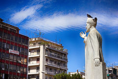 Monument in Thessaloniki Royalty Free Stock Photo