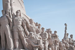 Monument at Tiananmen Square Royalty Free Stock Photography