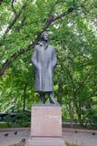 Monument till Alexander Blok i Moskva Arkivbilder