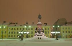 Monument till Alexander II Arkivfoto