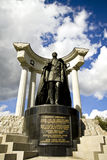 Monument till Alexander II zaren Arkivbilder