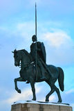 Monument till Alexander Nevsky i St Petersburg, Ryssland Arkivbilder