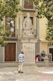 Monument till Alonso Cano Fotografering för Bildbyråer