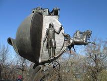 Monument till apelsinen som sparade Odessa arkivbild