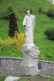 Monument till apostelAndrew som Första-kallas i Kiev Arkivfoto