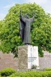 Monument till Catherine av Siena Arkivbilder