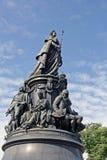 Monument till Catherine II Arkivfoton