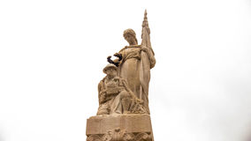 Monument till dödaen av storkriget Arkivfoto