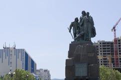 Monument till de heroiska Black Sea sjömännen Royaltyfri Bild