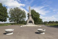 Monument till den 800. årsdagen av staden av Vologda, Ryssland Arkivbild