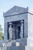Monument till den okända hjälten Arkivfoto