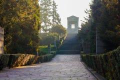Monument till den okända hjälten Serbien fotografering för bildbyråer