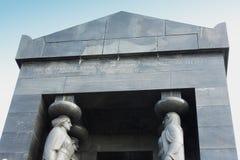Monument till den okända soldaten från världskrig I på Avala, Belgr fotografering för bildbyråer