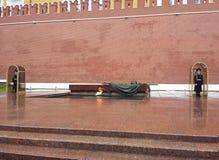 Monument till den okända soldaten i Moskva arkivfoton