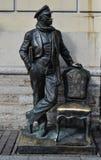 Monument till den Ostap böjapparaten Royaltyfria Bilder