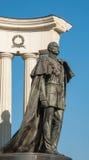 Monument till den ryska kejsaren Alexander II Royaltyfria Foton